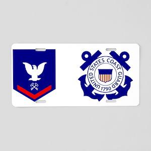 USCG-SK3-Mug Aluminum License Plate