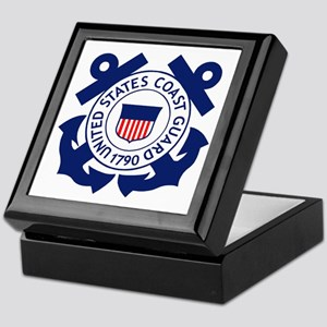 Delete-USCG-Logo-2-X Keepsake Box