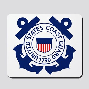 Delete-USCG-Logo-2-X Mousepad