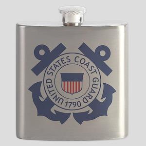 Delete-USCG-Logo-2-X Flask