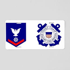 USCG-QM3-Mug Aluminum License Plate