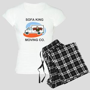 Sofa-King-Movers-Shirt-Fron Women's Light Pajamas