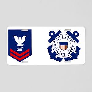 USCG-PA2-Mug Aluminum License Plate