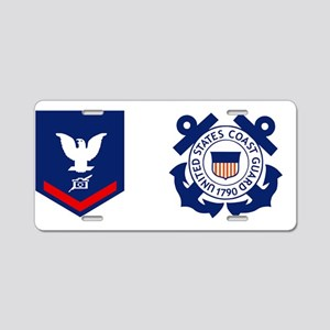 USCG-PA3-Mug Aluminum License Plate