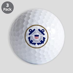 USCG-Logo-3-Chief Golf Balls