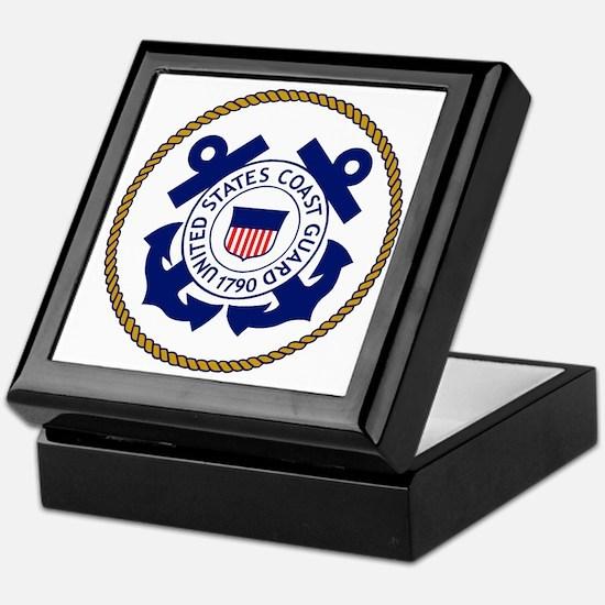 USCG-Logo-3-Chief.gif Keepsake Box