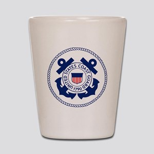 USCG-Logo-3-Enlisted-X Shot Glass