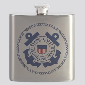 USCG-Logo-3-Enlisted-X Flask