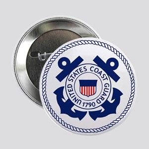 "USCG-Logo-3-Enlisted-X 2.25"" Button"