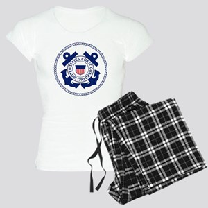 USCG-Logo-3-Enlisted-X Women's Light Pajamas