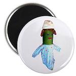Zucchini Baby Magnet