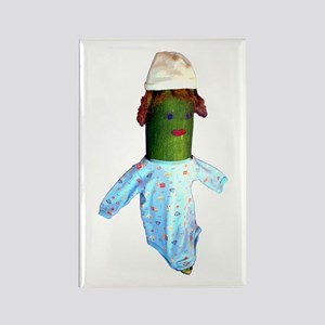 Zucchini Baby Rectangle Magnet