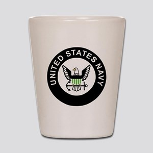 Navy-Logo-For-AN-X Shot Glass