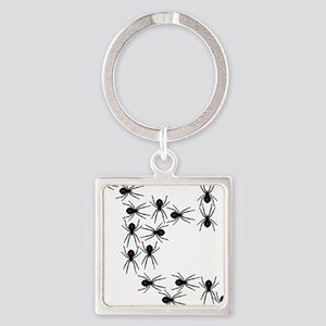 Creepy Crawly Spiders Keychains