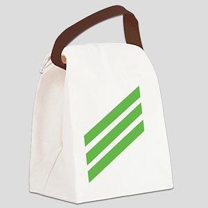 Navy-AN-Tile-2 Canvas Lunch Bag