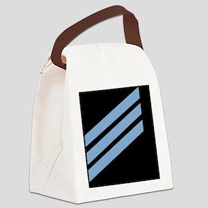 Navy-CN-Sticker-X Canvas Lunch Bag