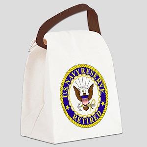 USNR-Retired-Bonnie Canvas Lunch Bag