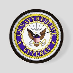USNR-Veteran-Bonnie Wall Clock