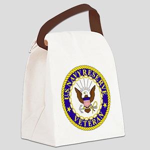 USNR-Veteran-Bonnie Canvas Lunch Bag