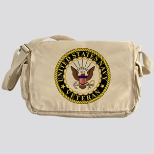 Navy-Veteran-Bonnie-2 Messenger Bag