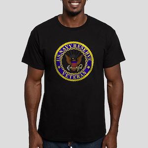 USNR-Veteran-Bonnie.gi Men's Fitted T-Shirt (dark)