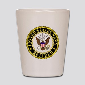 Navy-Retired-Bonnie-2 Shot Glass