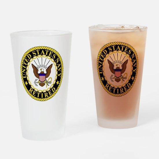 Navy-Retired-Bonnie-2.gif Drinking Glass