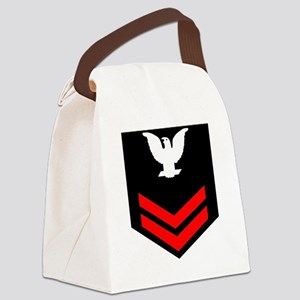 Navy-PO2-Blues Canvas Lunch Bag