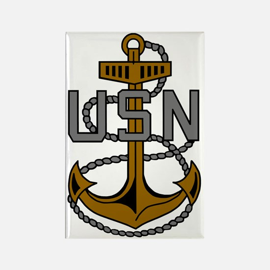 Navy-CPO-Anchor-Subdued.gif Rectangle Magnet