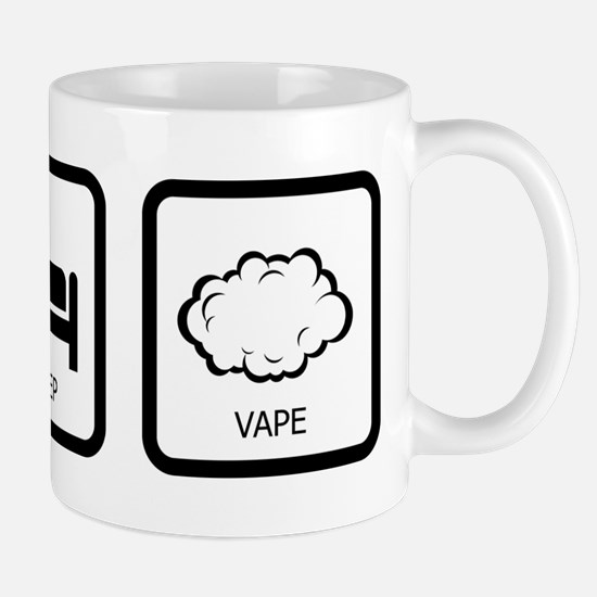 Eat Sleep Vape Small Mugs