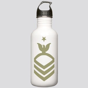 Navy-SCPO-Black-Shirt- Stainless Water Bottle 1.0L