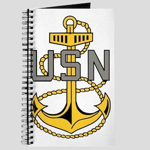 Navy-CPO-Anchor-Bonnie-X Journal