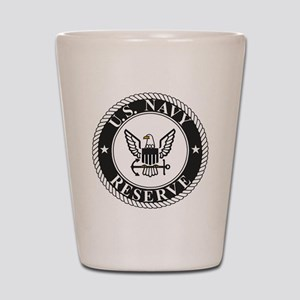 USNR-Logo-Black Shot Glass