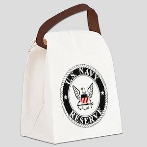 USNR-Logo-FN-Color Canvas Lunch Bag