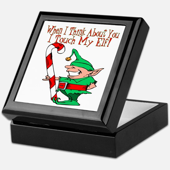 Touch My Elf Keepsake Box