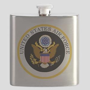 USAF-Patch-11-For-Blacks Flask
