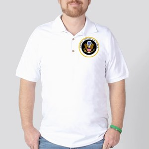 USAF-Patch-11-For-Blacks Golf Shirt