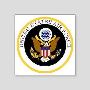 """USAF-Patch-11-For-Blacks.gi Square Sticker 3"""" x 3"""""""