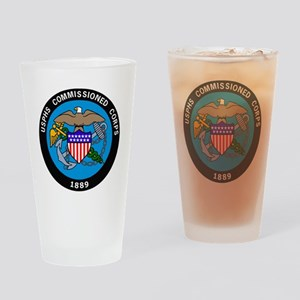 USPHS-Commissioned-Corps-Logo-Bonni Drinking Glass