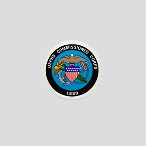 USPHS-Commissioned-Corps-Logo-Bonnie.g Mini Button