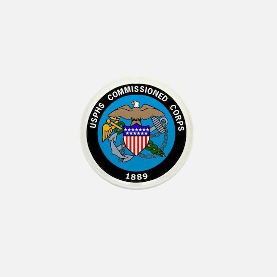 USPHS-Commissioned-Corps-Logo-Bonnie.g Mini Button