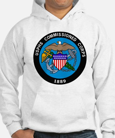 USPHS-Commissioned-Corps-Logo-Bo Hoodie