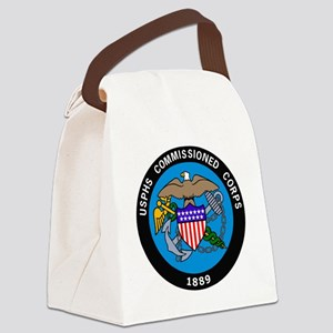 USPHS-Commissioned-Corps-Logo-Bon Canvas Lunch Bag