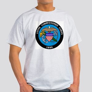 USPHS-Commissioned-Corps-Logo-Bonnie Light T-Shirt