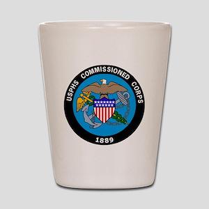 USPHS-Commissioned-Corps-Logo-Bonnie.gi Shot Glass