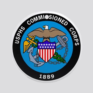 USPHS-Commissioned-Corps-Logo-Bonni Round Ornament