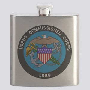 USPHS-Commissioned-Corps-Logo-Bonnie Flask