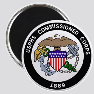 USPHS-Commissioned-Corps-White Magnet