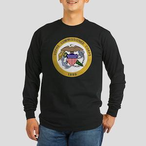 USPHS-Black-Shirt-6 Long Sleeve Dark T-Shirt