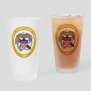 USPHS-Black-Shirt-6 Drinking Glass